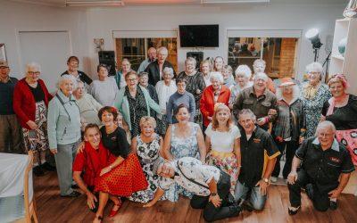 Taree seniors rock the night away and 'dance for sick kids'